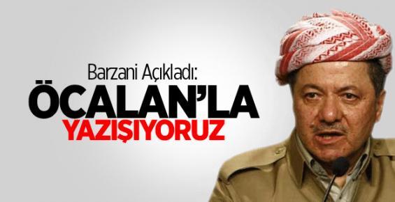 Barzani: Öcalan İle Yazışıyoruz