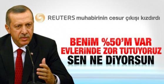 Başbakan Erdoğan'ı Kızdıran Gazeteci
