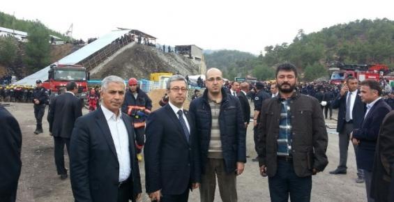 Başkan Antmen Ermenek'teki Maden Faciasını Yerinde İnceledi