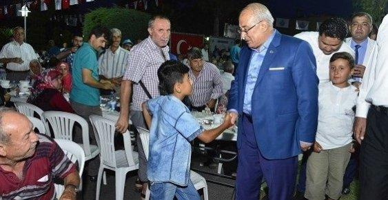 Başkan Kocamaz, Bozyazı da İftar Programına Katıldı