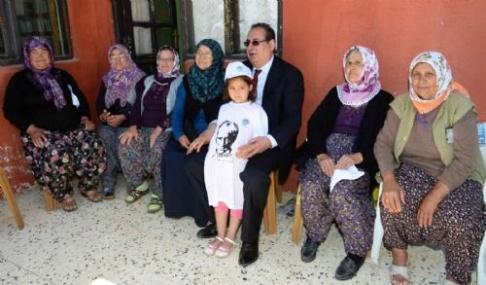 Başkan Özcan Avgadı Köyü'nde
