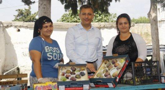 Başkan Pamuk, Bağlarbaşı'nda vatandaşla Buluştu
