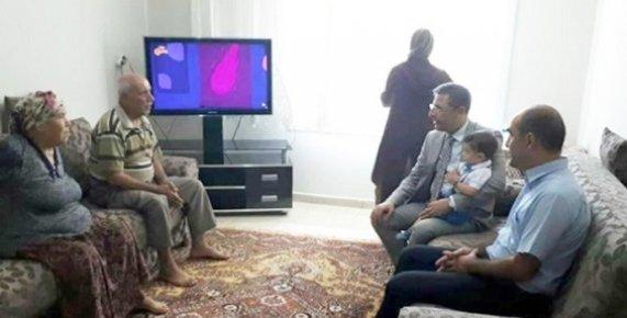 Başkan Pamuk'tan Mersinli Şehidin Ailesine Ziyaret