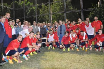 Başkan Taşpınar'dan Mersin İdmanyurdu'na Ziyaret