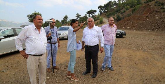 Başkan Tollu, Koramşalı'da Çalışmaları İnceledi