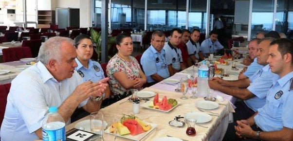 Başkan Tollu, 'Zabıta Günü'nü Kutladı