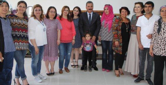 Başkan Tuna'dan Kadınlara Siyaset Desteği