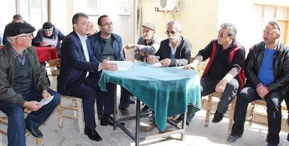 Başkan Turgut, Halkın Taleplerini Dinliyor