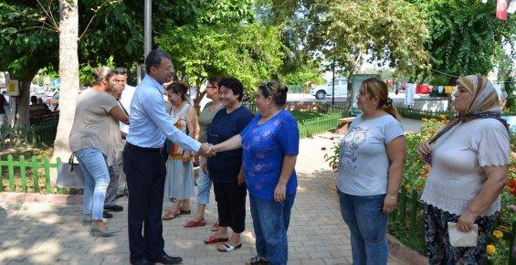 Başkan Turgut'a Batırık İkram Ettiler