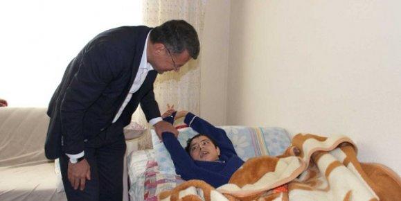 Başkan Turgut'tan Örnek Davranış