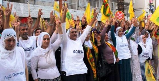 BDP Mersin'de Barış Mitingi Düzenlendi