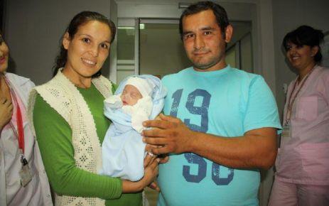 Bebeğin 93 günlük yaşam mücadelesi!