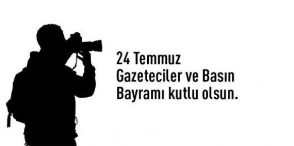 Belediye Başkanlarından Gazetecilere 24 Temmuz Kutlaması
