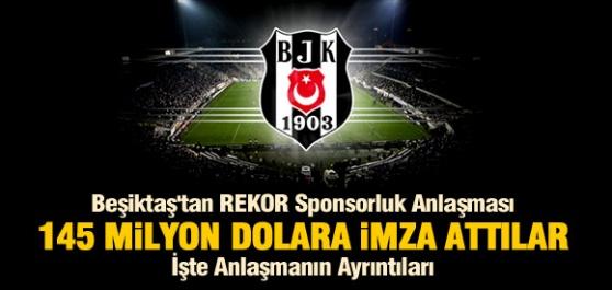 Beşiktaştan Beklenen Anlaşma Rekor Düzeyde