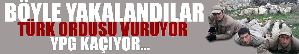 Türk ordusu vuruyor! YPG kaçıyor...