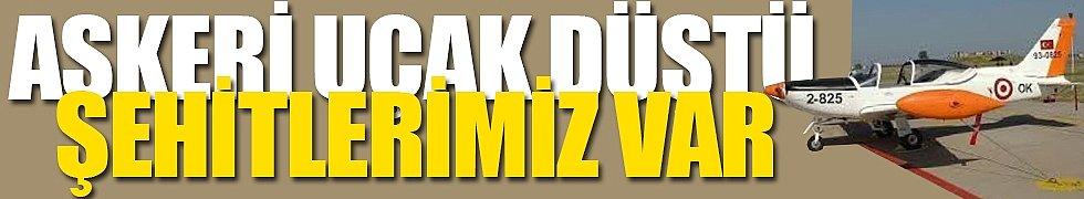 İzmir'de Askeri Uçak Düştü... Acı Haber, Şehitler Var...