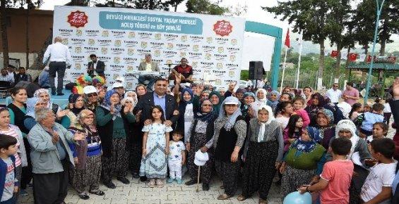 Beylice Mahallesi Sosyal Yaşam Merkezi Hizmete Açıldı