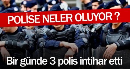 Bir Günde Üç Polis İntihar Etti !