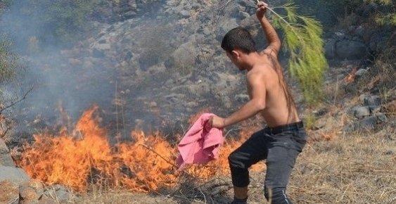 Bozyazı'da Çıkan Orman Yangını Korkuttu
