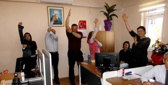 Bozyazı'da Kamu Çalışanlarına Masa Başında Egzersiz