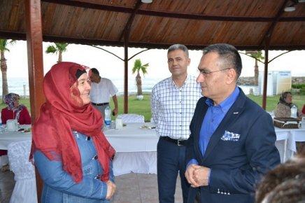 Bozyazı'da Şehit ve Gazi Aileleri İftar'da Biraraya Geldi.