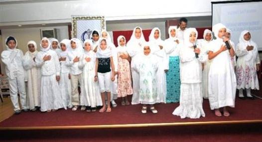 'Bu Yaz Camideyim' Projesi ile 123 Çocuk Kur'an-I Kerim Okumayı Öğrendi