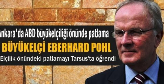 Büyükelçi Eberhard Pohl Ankaradaki Patlamayı Tarsus'ta Öğrendi