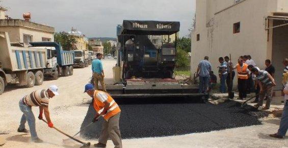 Büyükşehir Belediyesinden Silifke'de Asfalt Çalışması