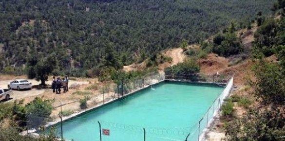 Büyükşehir'in Mut'ta Yenilediği Sulama Havuzu İle 3 Bin Dönüm Arazi Sulanacak