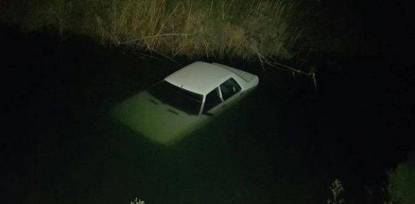 Çalınan Otomobil Tahliye Kanalında Bulundu