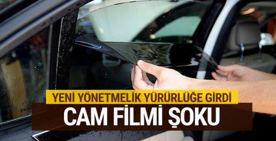 Cam Filmi Serbest mi Yeni Yönetmelik Sürücüleri Şoke Etti
