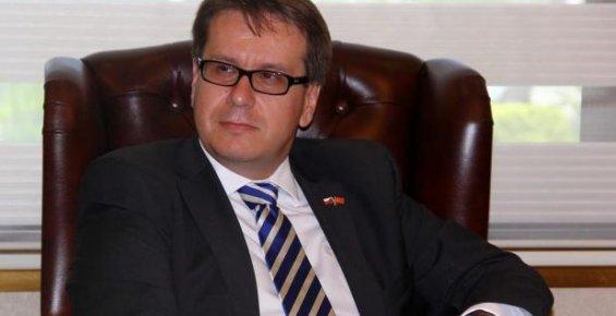 Çek Cumhuriyeti'nin Ankara Büyükelçisi Kafka Mersin'de