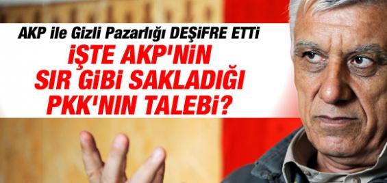 Cemil Bayık AK Parti İle Gizli Pazarlığı Deşifre Etti