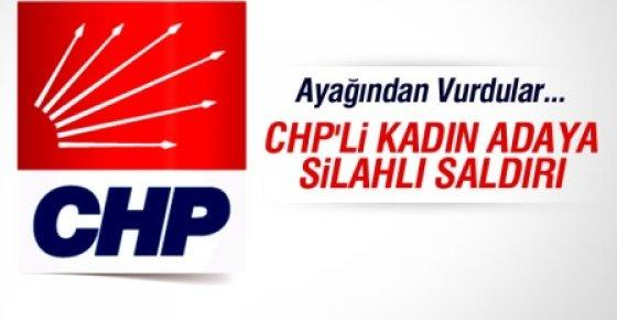 CHP Adana Birinci Sıra Kadın Vekil Adayına Silahlı Saldırı