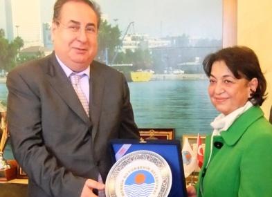 CHP Anamur'dan Macit Özcan'a Ziyaret