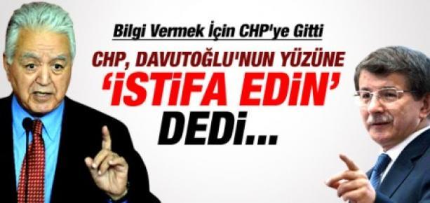 CHP Dış İşleri Bakanını İstifaya Davet Etti