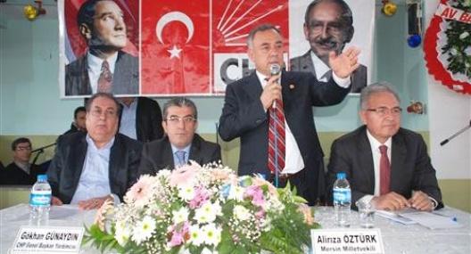 CHP Genel Başkan Yardımcısı Günaydın Mersin'de