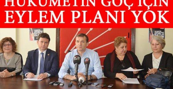 CHP Göç Sorunu İçin Mersin'de Düğmeye Bastı!