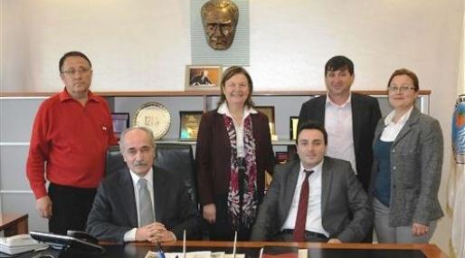 CHP Heyetinden Başkan Genç'e Ziyaret