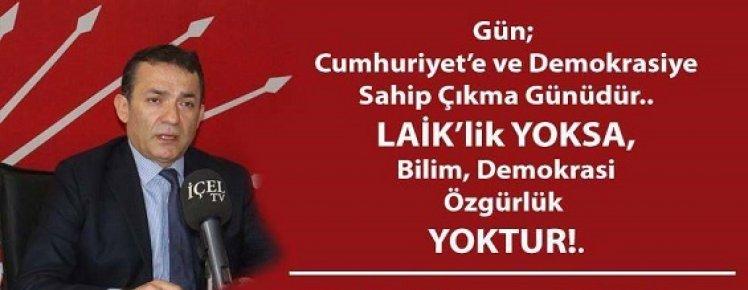 CHP Mersin İl Başkanı Özyiğit Kılıçdaroğlu'nun Mersin'e Gelişini Değerlendirdi.