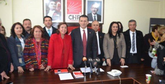 CHP Mersin İl Yönetim Kurulu Görev Dağılımını Yaptı