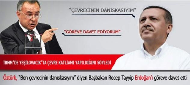 CHP Mersin Milletvekili Ali Rıza Öztürk Başbakana Sert Yüklendi.