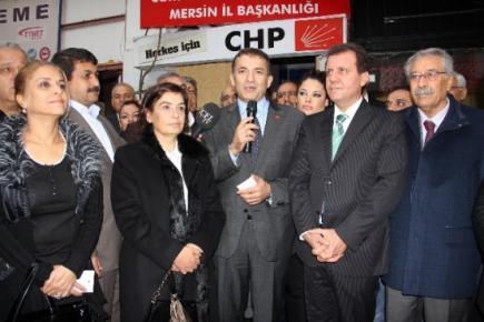 CHP Mersin'de Özyiğit Dönemi Resmen Başladı