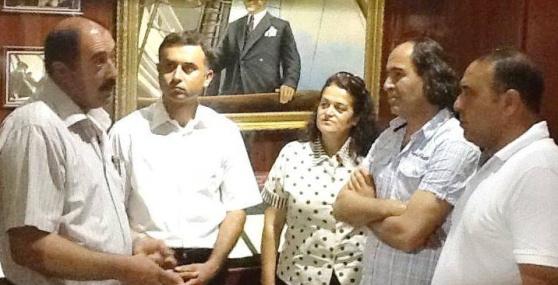 CHP Mezitli İlçe Örgütü'nden Müzelere Ziyaret