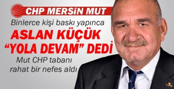 CHP Mut Belediye Başkan Adayının İstifası Kabul Edilmedi