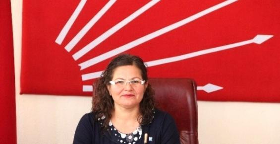 CHP Mut İlçe Başkanlığı'na Nurşen Özkan Atandı