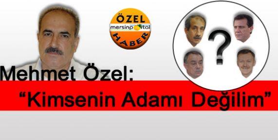 CHP Tarsus İlçe Başkanı Özel