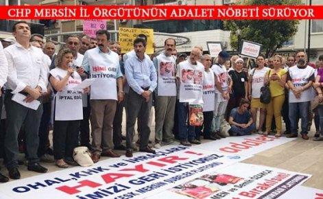 CHP ve Emekçilerden 'Adalet' Talebi