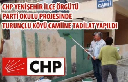 CHP Yenişehir Parti Okulundan Anlamlı Proje