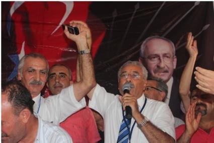 CHP Yenişehir Yeniden Rıza Turan Dedi.